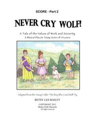 Never Cry Wolf - Score Part 2