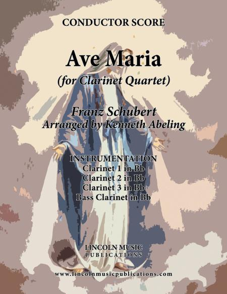 Ave Maria (for Clarinet Quartet)