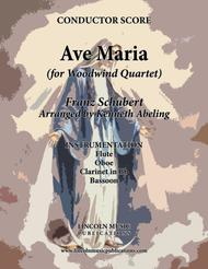 Ave Maria (for Woodwind Quartet)