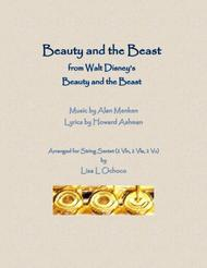Beauty And The Beast from Walt Disney's Beauty and the Beast for String Ensemble