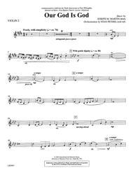 Our God Is God - Violin 2