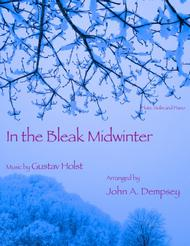 In the Bleak Midwinter (Trio for Flute, Violin and Piano)