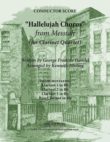 Handel - Hallelujah Chorus from Messiah (for Clarinet Quartet)