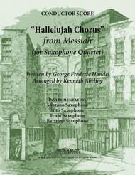 Handel - Hallelujah Chorus from Messiah (for Saxophone Quartet SATB)