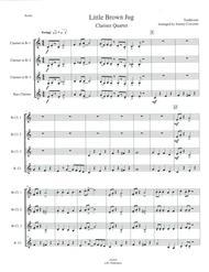 Little Brown Jug for Clarinet Quartet