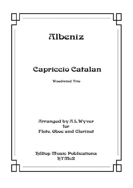 Capriccio Catalan arr. flute, oboe, and clarinet