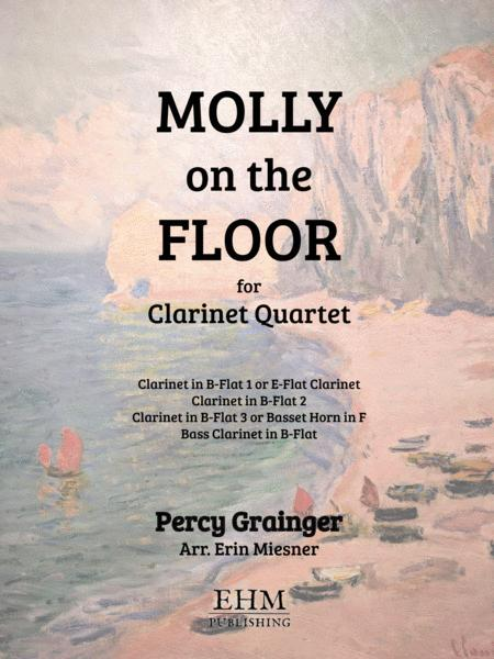 Molly on the Shore for Clarinet Quartet