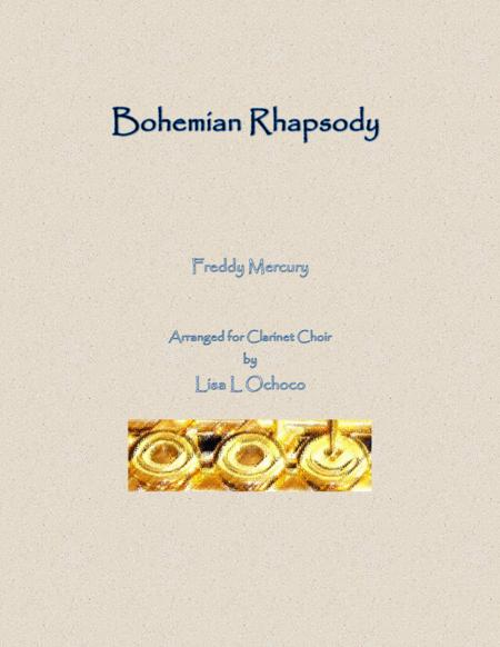 Bohemian Rhapsody for Clarinet Choir