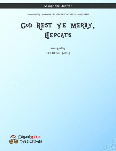 God Rest Ye Merry, Hepcats — saxophone quartet