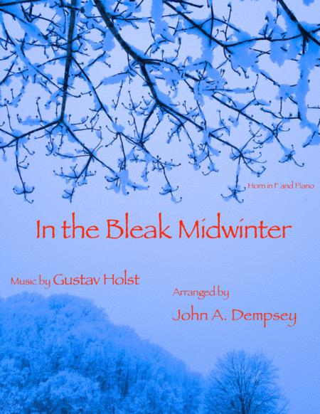 In the Bleak Midwinter (Horn in F and Piano)