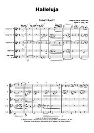 Halleluja - sophisticated arrangement of Cohen's Classic - Clarinet Quintet