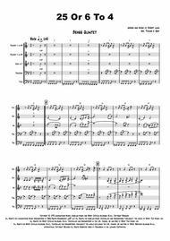 25 Or 6 To 4 - Chicago - Brass Quintet