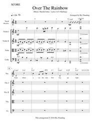 Over The Rainbow (Vocal, Rhythm & String Quartet)