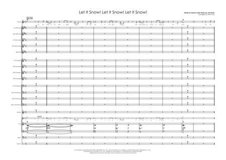 Let It Snow! Let It Snow! Let It Snow! - Vocal with Big Band