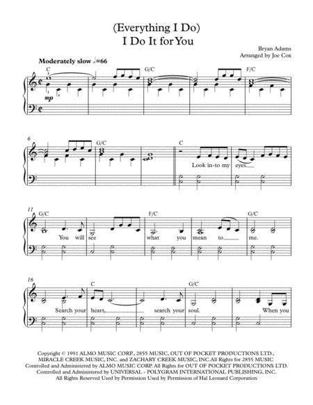(Everything I Do) I Do It For You