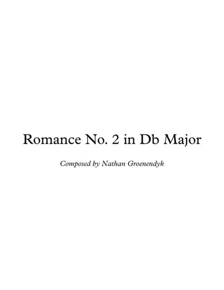 Romance No. 2 in D-Flat Major