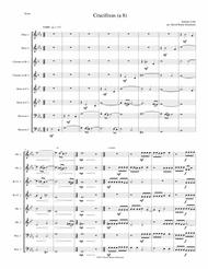 Crucifixus a 8 for wind octet (or wind choir) (2 oboes, 2 clarinets, 2 horns and 2 bassoons)