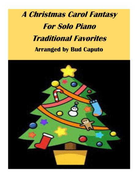 A Christmas Carol Fantasy for Solo Piano