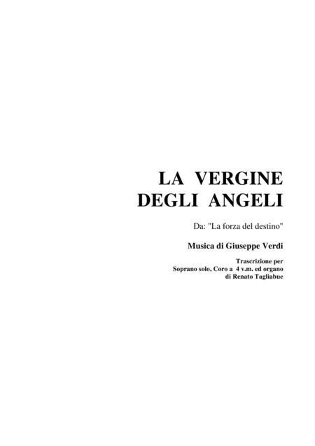 LA VERGINE DEGLI ANGELI - For Solo, SATB Choir and organ
