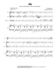 He (Trombone Duet)