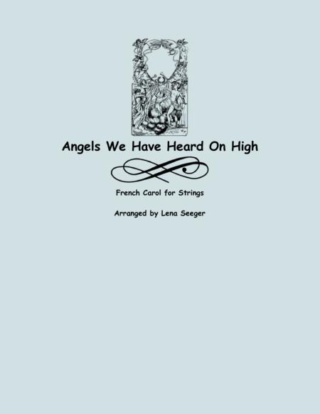 Angels We Have Heard on High (three violins and cello)