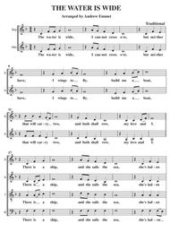 The Water Is Wide A Cappella SATB