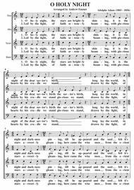 O Holy Night A Cappella