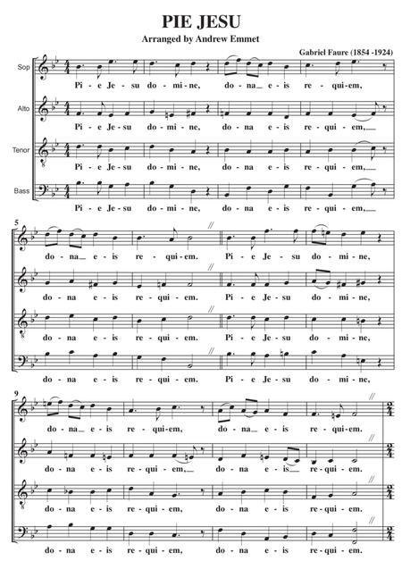 Pie Jesu Faure A Cappella
