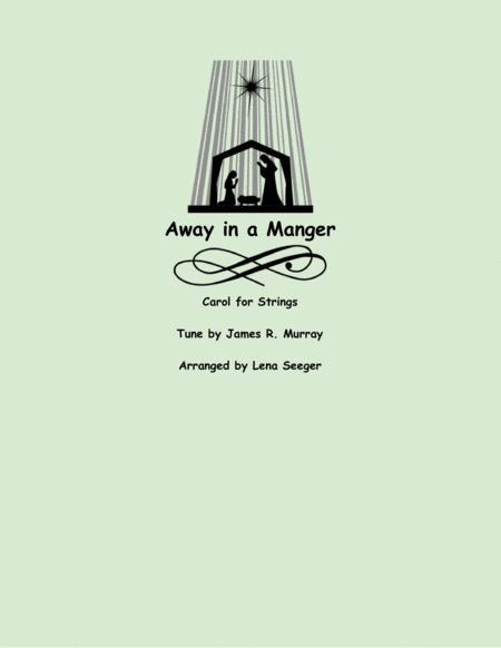 Away in a Manger (three violins and cello)