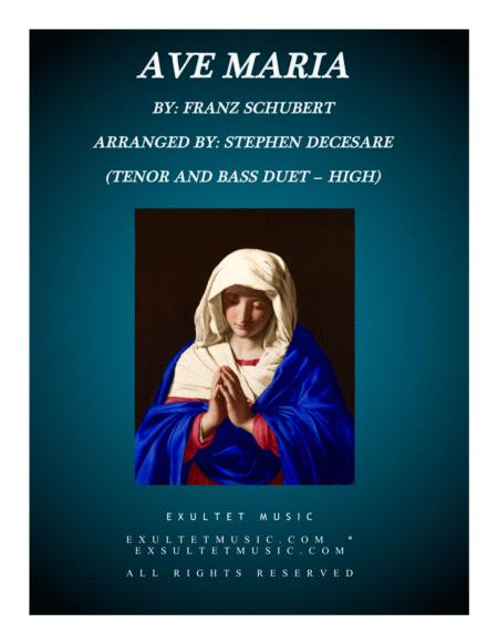 Ave Maria (Duet for Tenor and Bass - High Key)