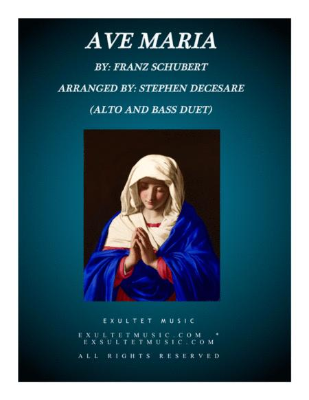 Ave Maria (Duet for Alto and Bass)