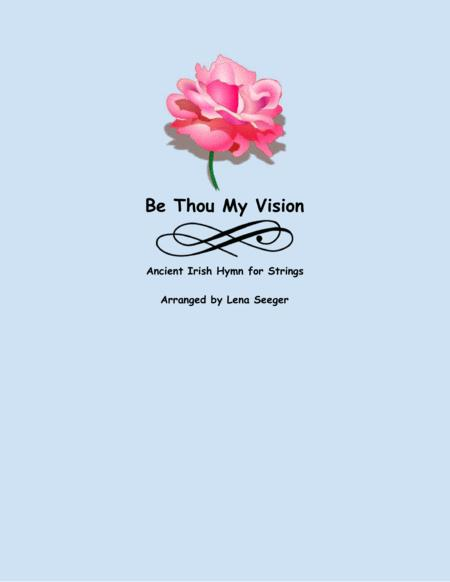 Be Thou My Vision (three violins and cello)