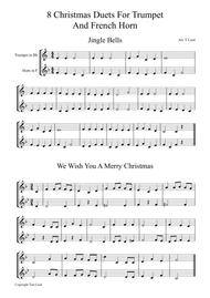 8 Christmas Duets For Trumpet and F-Horn