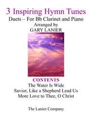 Gary Lanier: 3 Inspiring Hymn Tunes (Duets for Bb Clarinet & Piano)