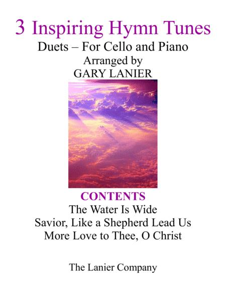 Gary Lanier: 3 Inspiring Hymn Tunes (Duets for Cello & Piano)