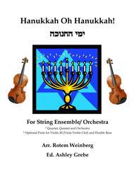 Hanukkah Oh Hanukkah - Strings