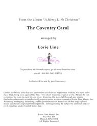 The Coventry Carol (from 2016 A Merry Little Christmas)