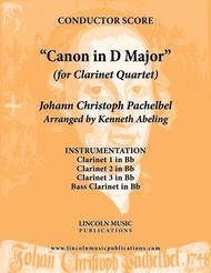 Pachelbel - Canon in D Major (for Clarinet Quartet)