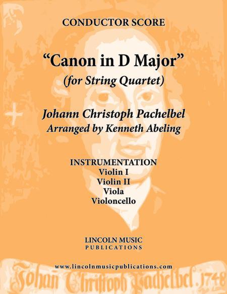 Pachelbel - Canon in D Major (for String Quartet)