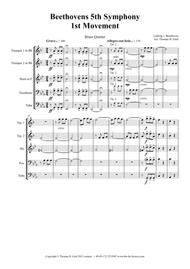 Beethovens 5th Symphony - 1st Movement - Brass Quintet