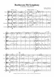 Beethovens 5th Symphony - 1st Movement - String Orchestra