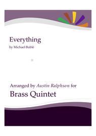 Everything - brass quintet