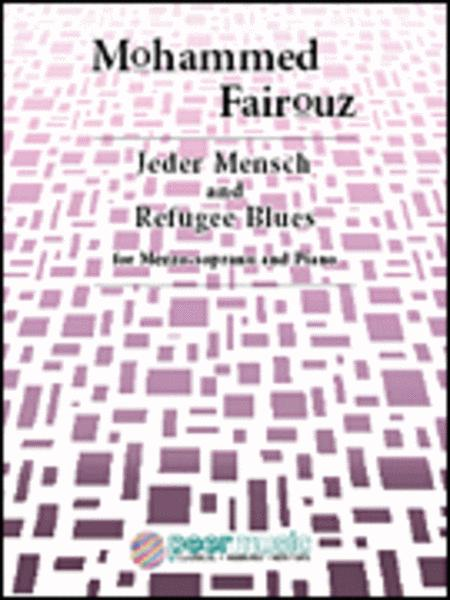 Jeder Mensch and Refugee Blues for Mezzo-soprano and Piano