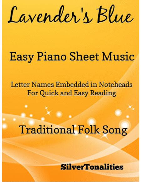 Lavender's Blue Easy Piano Sheet Music