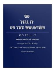 Go Tell It on the Mountain - SSA A Cappella
