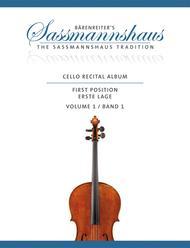 Cello Recital Album, Volume 1