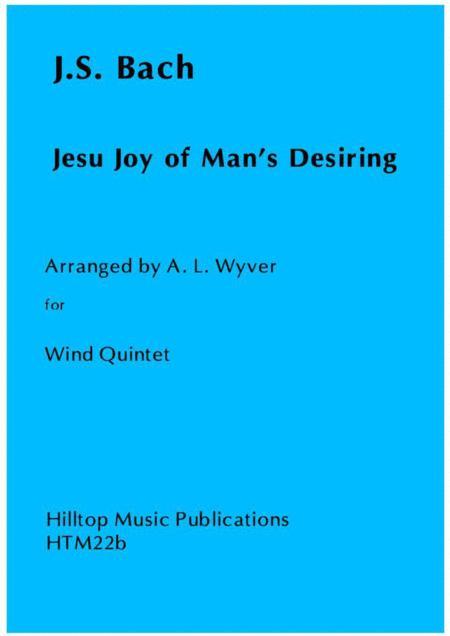 Jesu Joy of Mans Desiring arranged for Wind Quintet