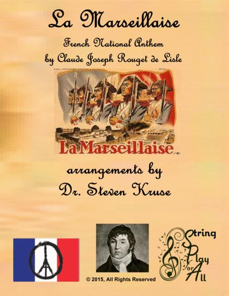 La Marseilles, French National Anthem, for Multi-Level String Orchestra