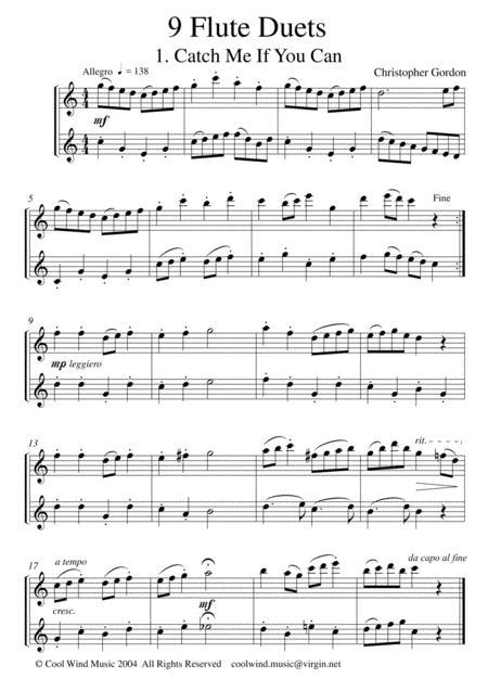 Nine Flute Duets