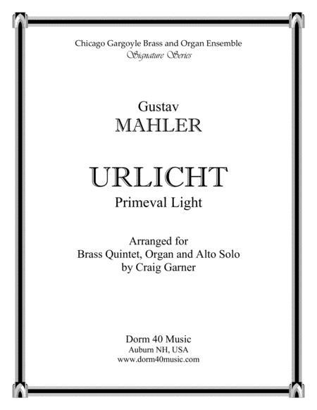 Urlicht (Primeval Light), Fourth Movement, Symphony No. 2 (Alto Solo)